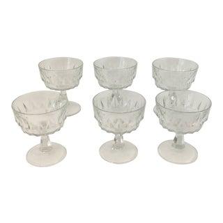 Vintage 1960's Cocktail Glasses Marked France - Set of 8 For Sale