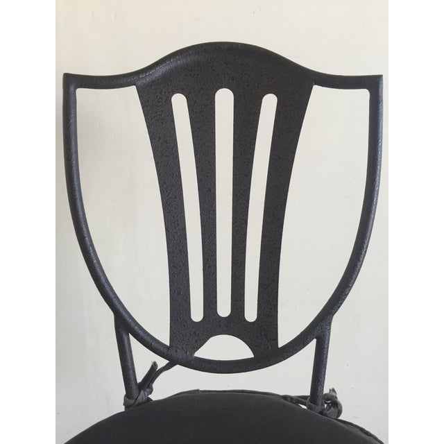 HD Buttercup Iron Dining Chairs - Set of 6 - Image 6 of 8