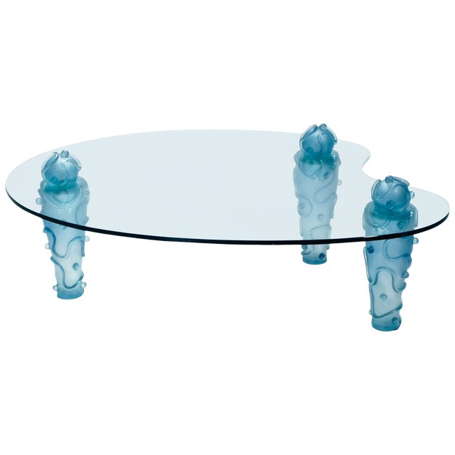 Large Coffee Table by Garouste & Bonetti, 1990s For Sale