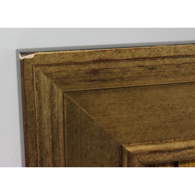 Mid-Century 1955 Charles Cerny Trompe l'Oeil Oil Painting For Sale - Image 12 of 13