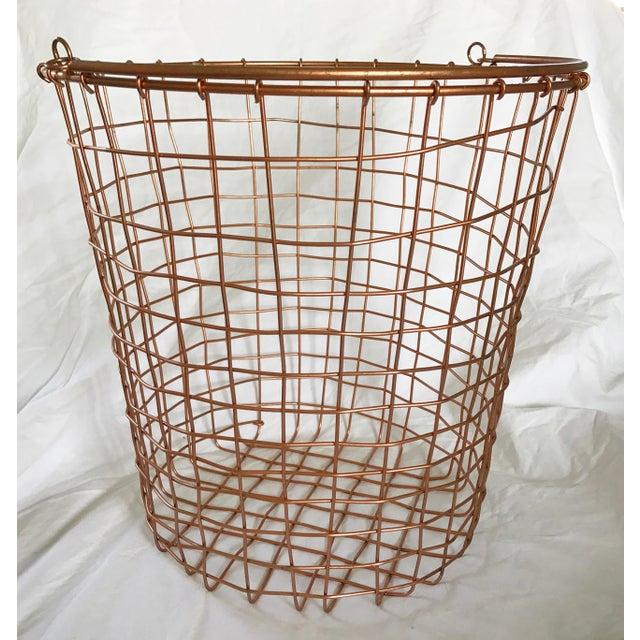 Copper Storage Basket - Image 2 of 5