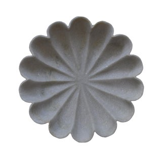 "Marble Flower 12"" Bowl For Sale"
