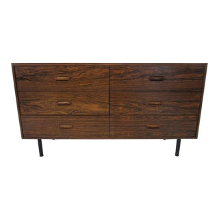 Brazilian Rosewood Mid Century Dresser / Chest For Sale