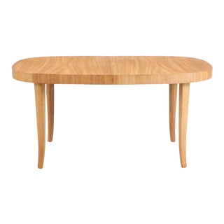 Vintage 1950-60's Mid-Century Modern Edward Wormley for Dunbar Oval Dining Table For Sale