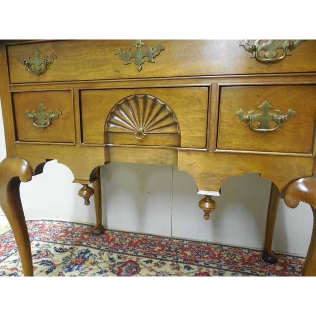Century Furniture Henry Ford Museum Mahogany Chippendale Style Low Boy Chest For Sale - Image 7 of 11