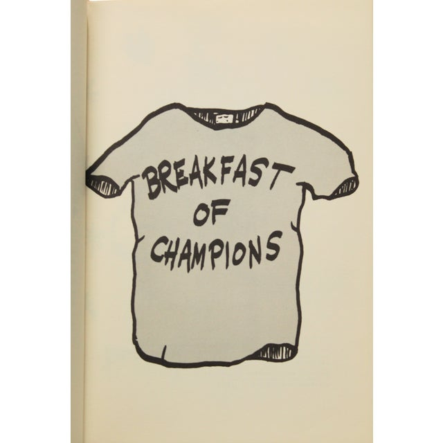 Breakfast of Champions by Vonnegut, 1st Edition - Image 5 of 7