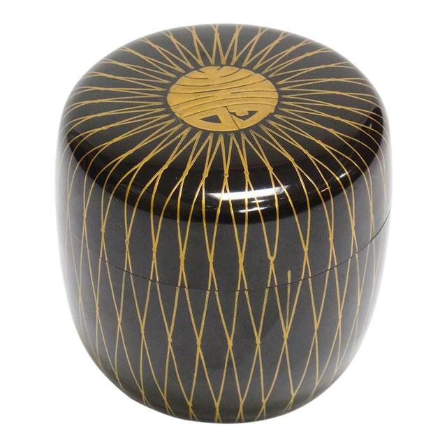 Natsume Lacquer Tea Vessel For Sale