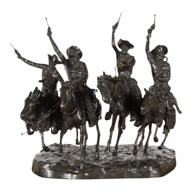 "F. Remington ""Coming Through the Rye"" Bronze Sculpture - Image 1 of 11"