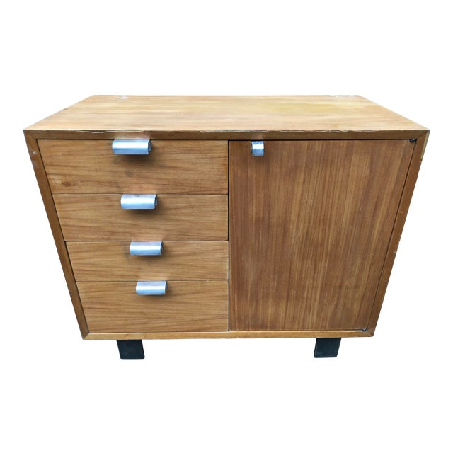 1960s Mid-Century Modern George Nelson for Herman Miller Chest For Sale