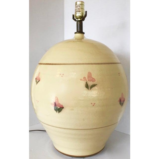 Italian Large Ceramic Table Lamp - Image 7 of 7