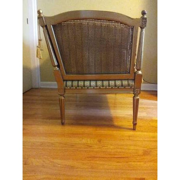 19th-Century Louis XVI-Style Settee For Sale - Image 4 of 11