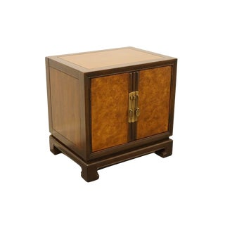 Late 20th Century Vintage Drexel Tai Ming Collection Chinoiserie Nightstand For Sale