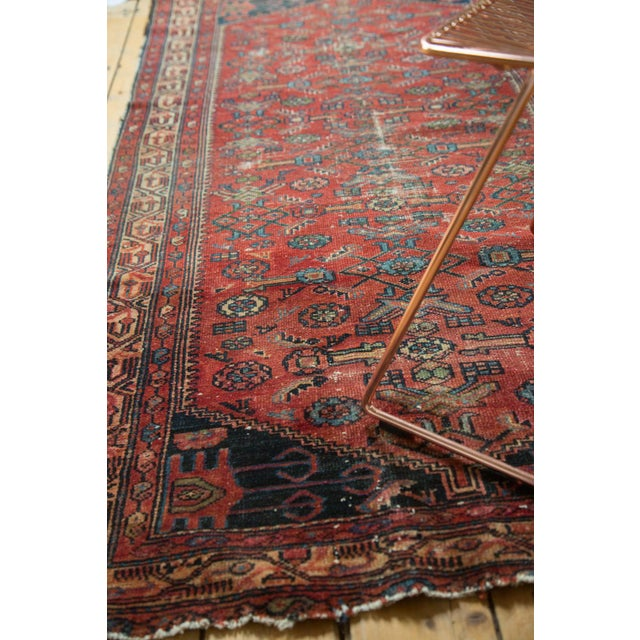 "Textile Vintage Malaye Runner - 3'4"" X 6'9"" For Sale - Image 7 of 9"