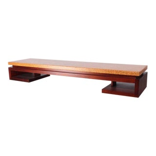 Cork Top Bench by Paul Frankl For Sale