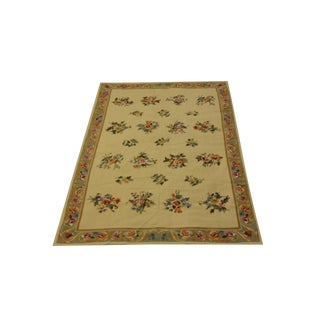 "Leon Banilivi Needle Point Rug - 5'9"" x 8'8"""