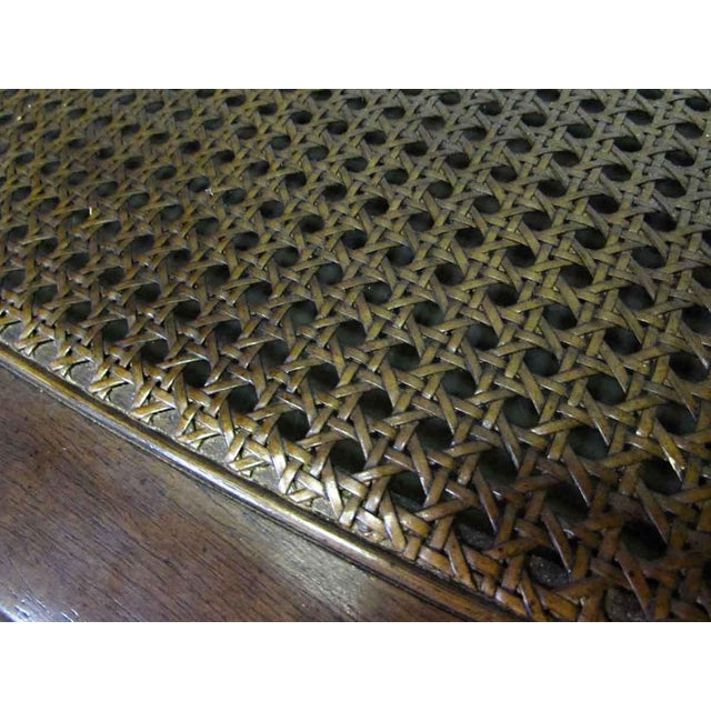 Brown Glass Top Insert Coffee Table For Sale - Image 8 of 8
