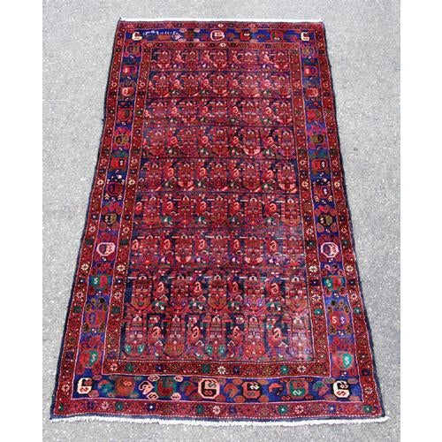 Semi-Antique Hosseinabad Rug - 4′ × 8′6″ - Image 4 of 4