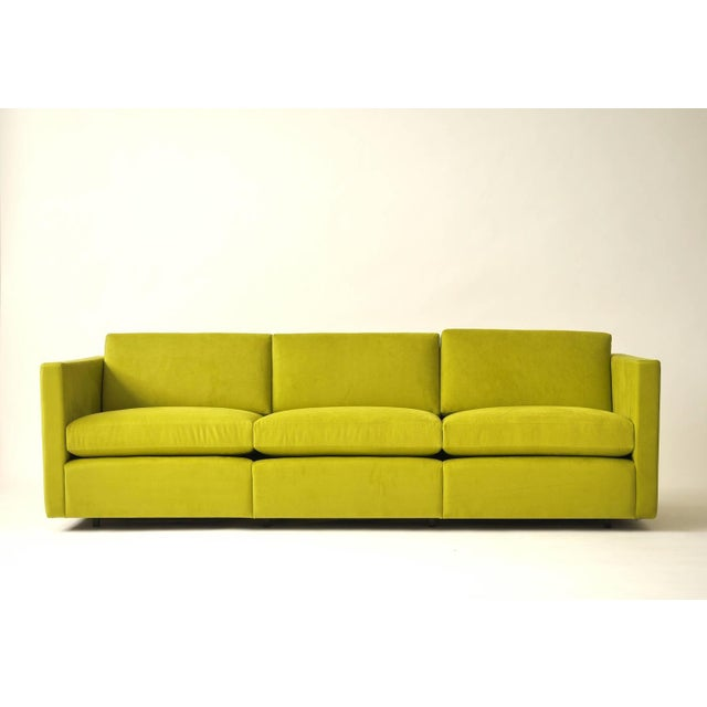 Charles Pfister Three-Seat Sofa for Knoll - Image 4 of 6