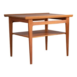 Finn Juhl Danish Teak Side Table For Sale