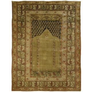 Antique Anatolian Panderma Rug