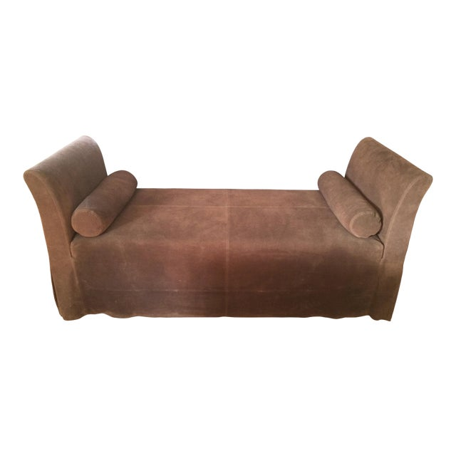 Maxine Snider Inc. Left Bank Settee For Sale