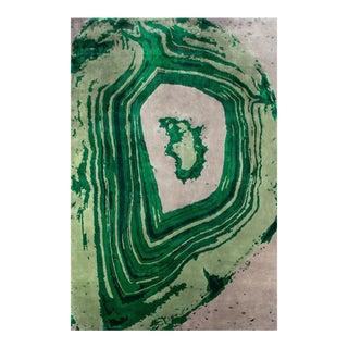 Covet Paris Agatha Emerald Rug - 6′7″ × 9′10″ For Sale