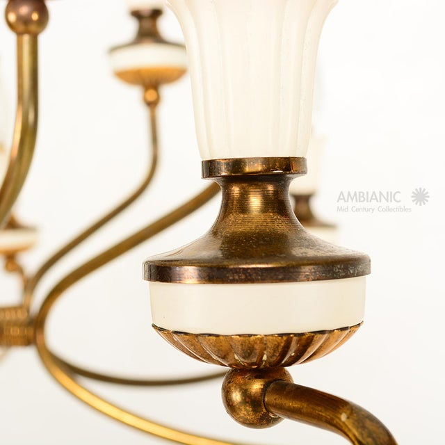 16 Arm Italian Chandelier For Sale - Image 4 of 10