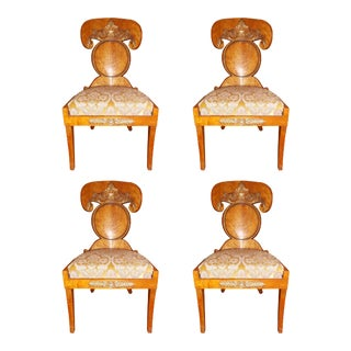 Baltic Empire Chairs - Set of 4 For Sale