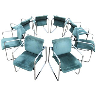 Set of Eight Peter Protzman for Herman Miller Armchairs/Dining Chairs For Sale