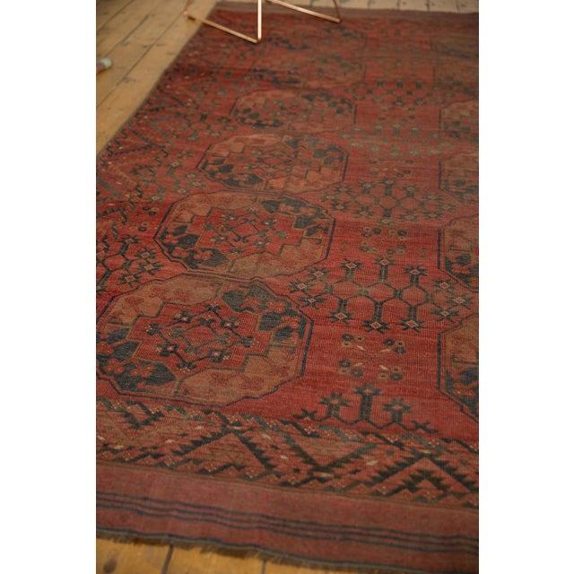 "Old New House Vintage Ersari Carpet - 8'2"" X 9'8"" For Sale - Image 4 of 10"