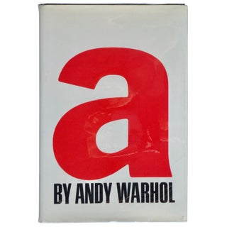 1960s Vintage Andy Warhol's 'A' Book For Sale