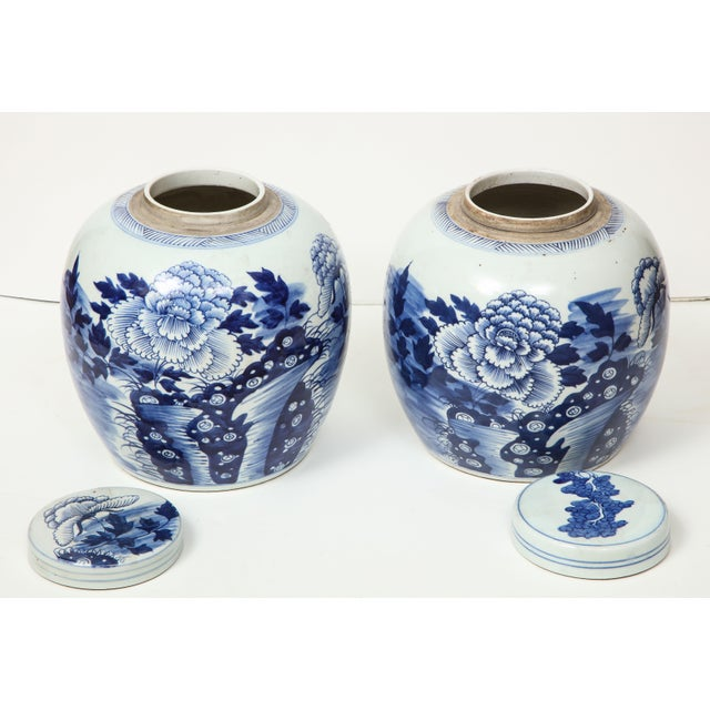 Chinese Export Ginger Jars - A Pair For Sale - Image 10 of 13