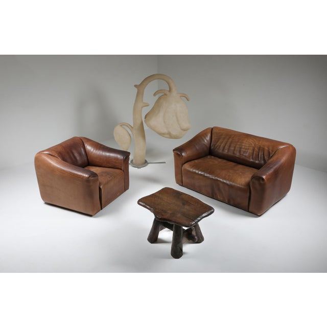 Brown 1970s De Sede Ds 47 Brown Leather Sofa For Sale - Image 8 of 9