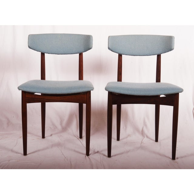 Midcentury Danish Dining Chairs For Sale - Image 4 of 9
