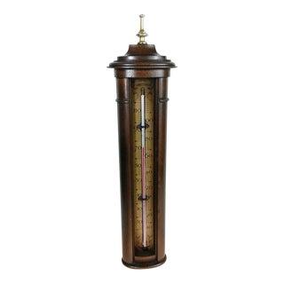 Vintage Stiffel Mid-Century Solid Wood Farenheit Thermometer