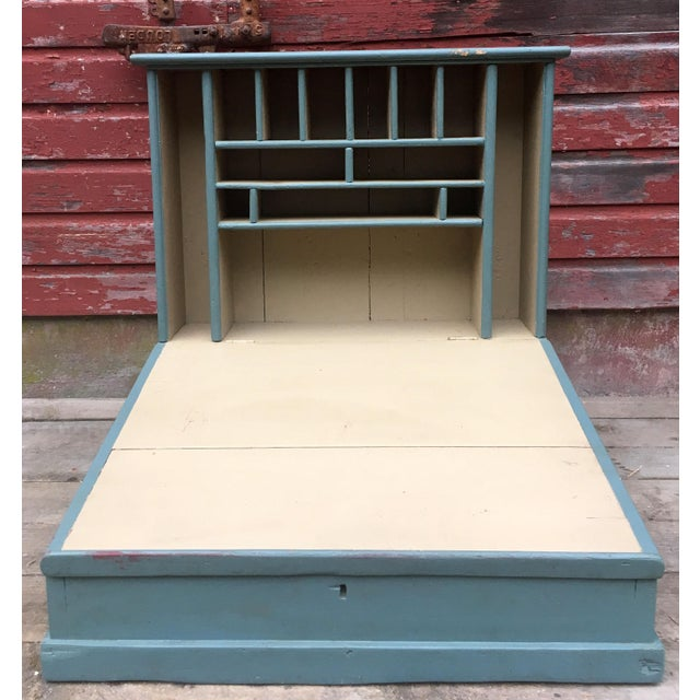 White Antique Late 19th C. Plantation Desk For Sale - Image 8 of 10