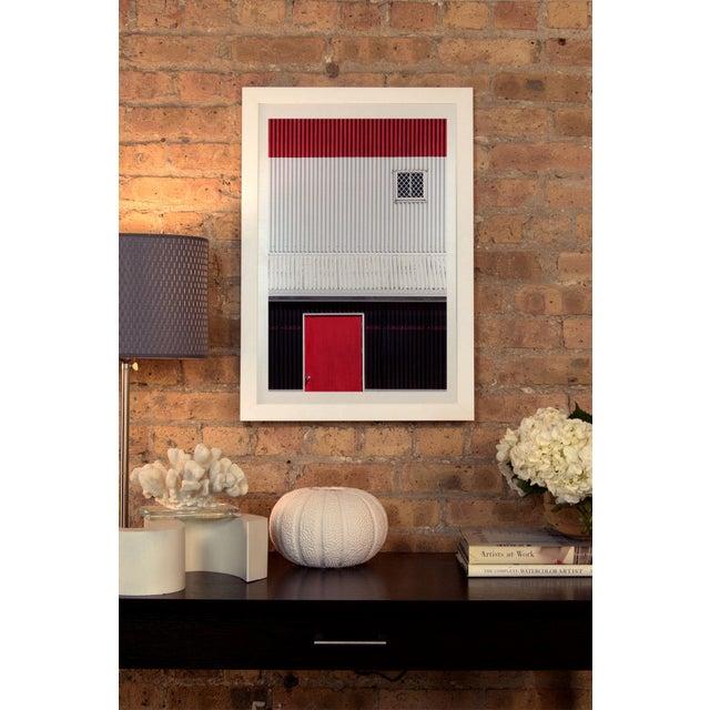Red White Black by Jacqueline Hammer Framed Print - Image 3 of 3