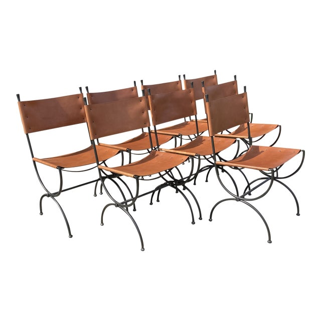 Charleston Forge Legacy Iron Dining Chairs -Set/8 For Sale