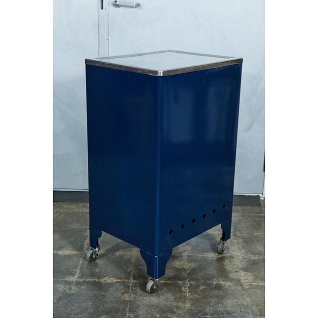 Blue FPI Industry 1964 Metal Cabinet For Sale - Image 5 of 6