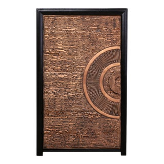 Handmade Asian Contemprory- Classic Copper Door For Sale