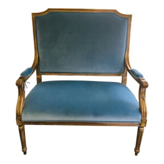 Vintage French Settee For Sale