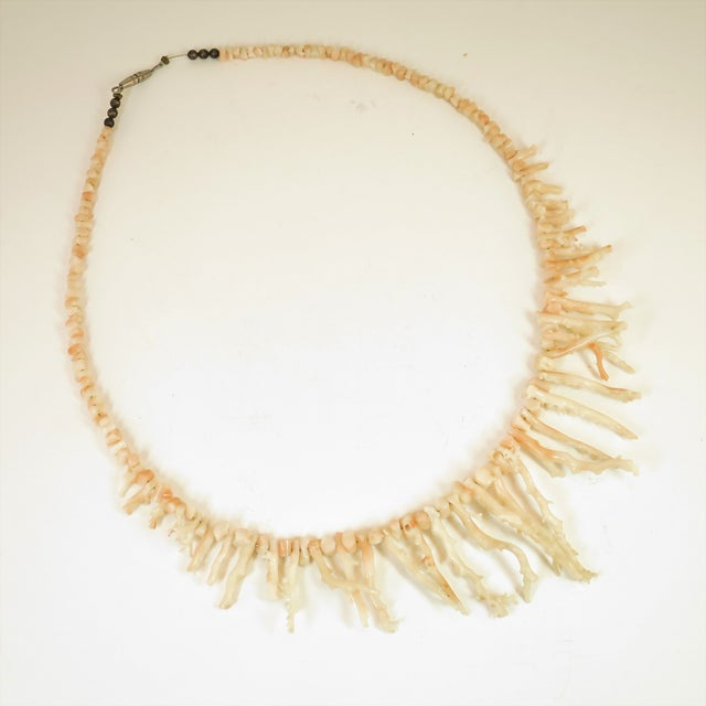 Angel Skin Coral Branch Necklace 1930s For Sale - Image 11 of 11