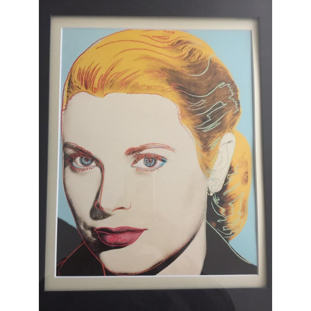 Mid-Century Modern Grace Kelly 1984 Andy Warhol American Pop Art Print For Sale - Image 3 of 4