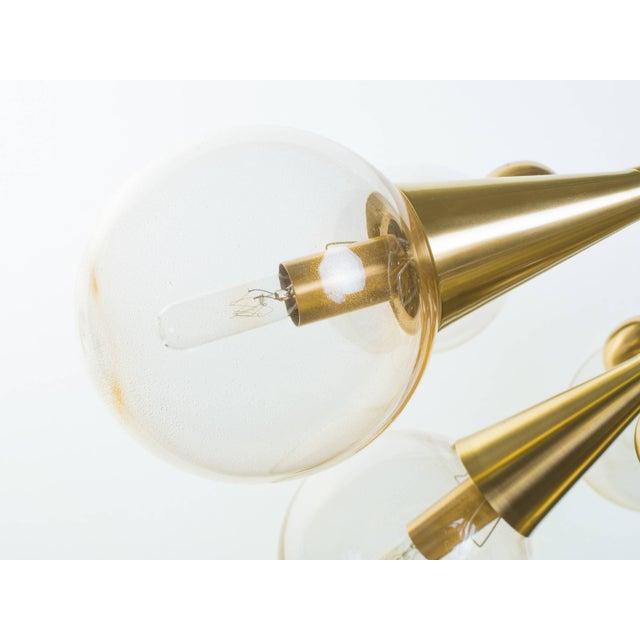 Sputnik Chandelier For Sale - Image 4 of 11