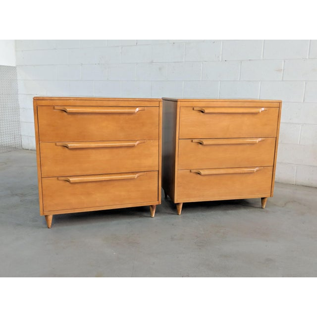 1960s Danish Modern Maple Dressers - a Pair For Sale - Image 12 of 12