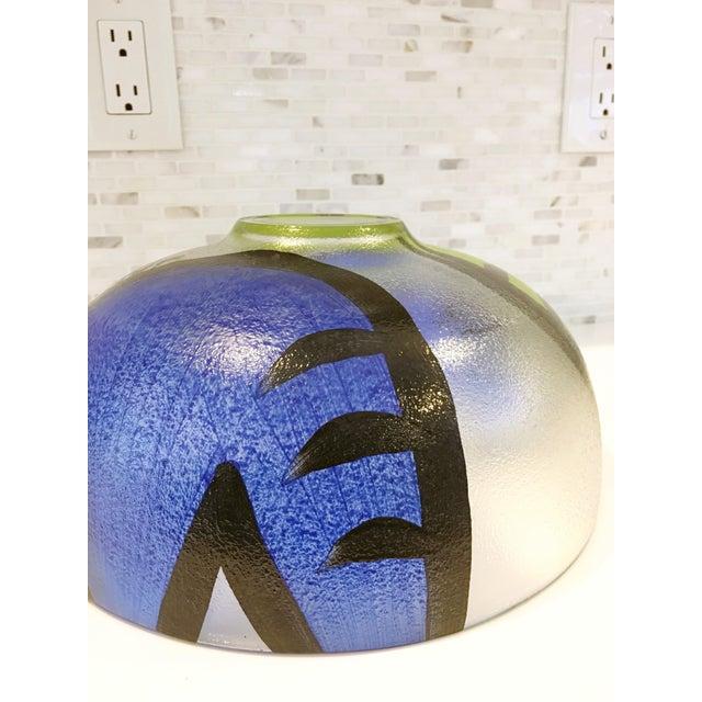 Ulrica Hydman Vallien Kosta Boda Glass Bowl - Image 6 of 6