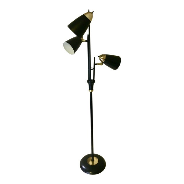 "Gerald Thurston for Lightolier ""Triennale"" Floor Lamp - Image 1 of 6"