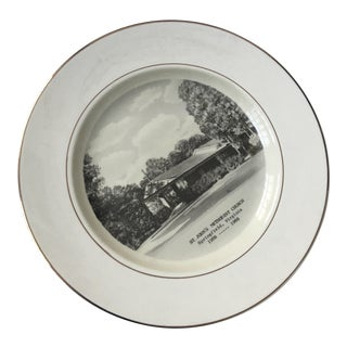 1966 Preston Hopkinson Porcelain Plate
