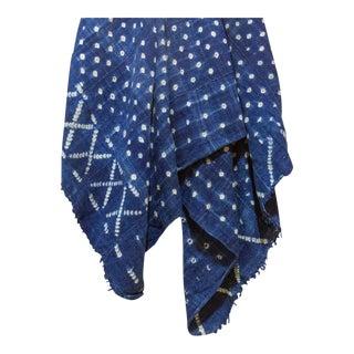 Bandini Indigo African Mud Cloth For Sale