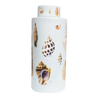 Fabienne Jouvin Paris Large Lidded Tea Caddy Jar for Tozai Home For Sale